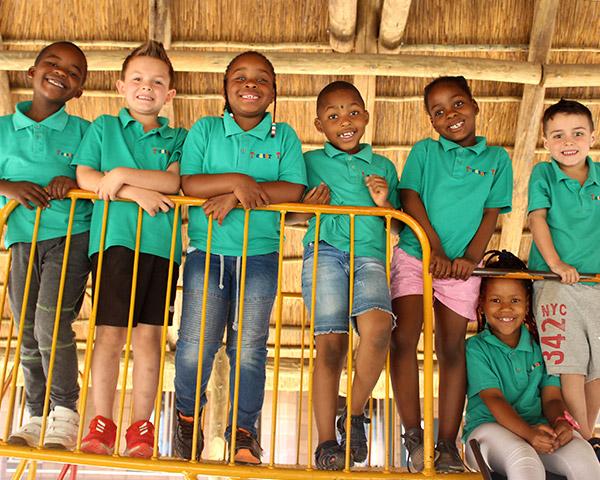 Children from Treasure Tots Alberton