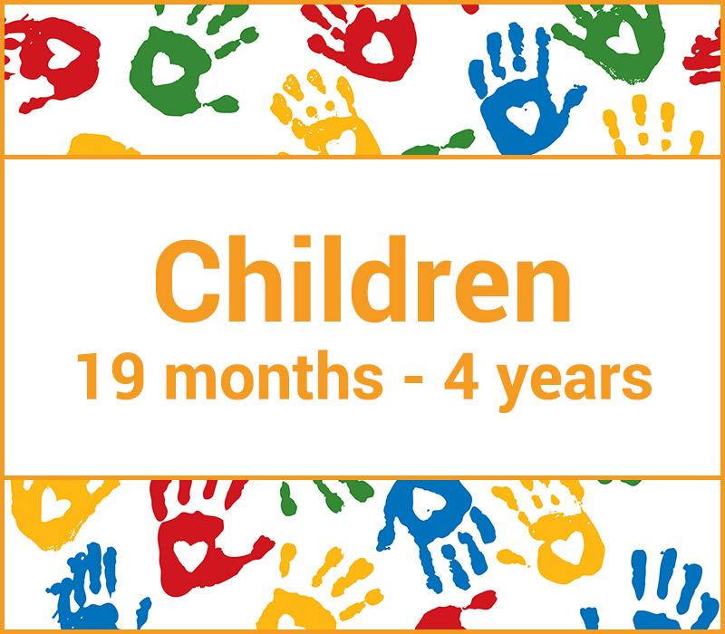 Children 19 months - 4 years Pricelist 2020